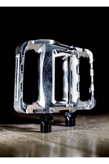 Pedali Alluminio Silver